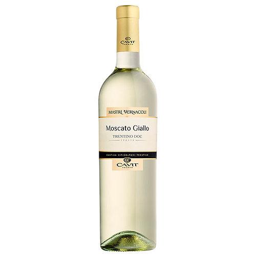 卡維特酒莊方言系列黃麝香白葡萄酒 Cavit Mastri Vernacoli Moscato Giallo DOC 2017