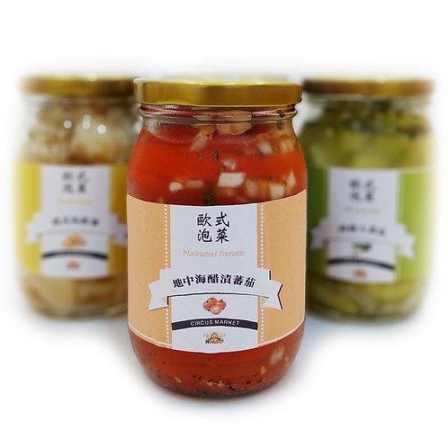 歐式泡菜 - 地中海醋漬蕃茄