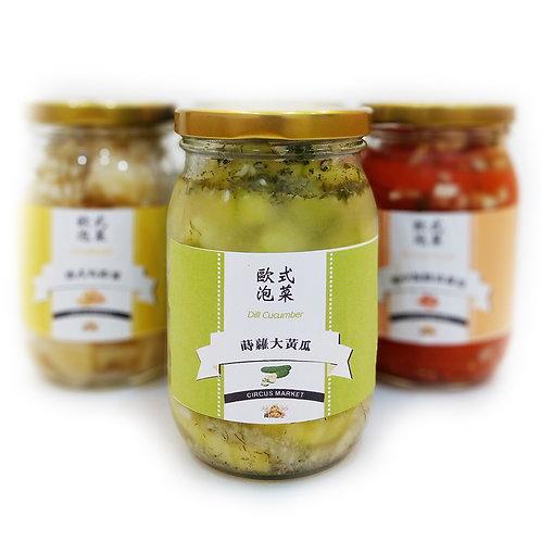 歐式泡菜 - 蒔蘿大黃瓜