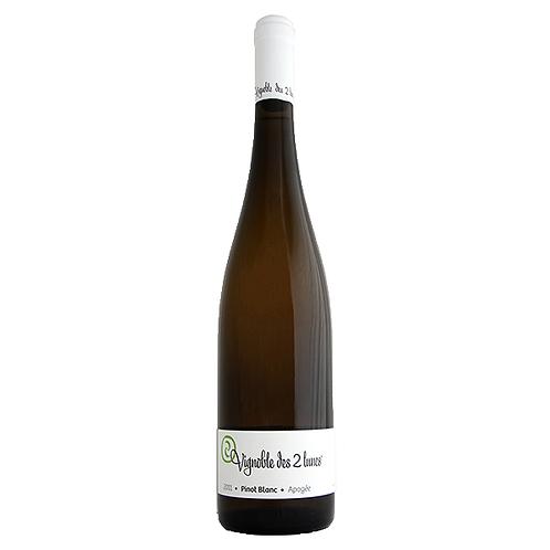 月月葡萄園白皮諾白葡萄酒 Pinot Blanc Apogée, Vignobles des 2 Lunes 2011