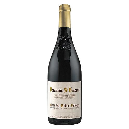 聖凡森莊園隆河丘村莊級紅葡萄酒 Domaine Saint Vincent, Côtes du Rhône Villages 2016