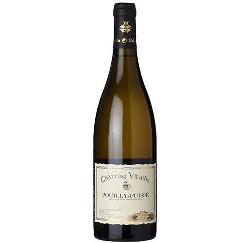維塔力斯莊園布根地白葡萄酒 Château Vitallis, Pouilly Fuissé 2015