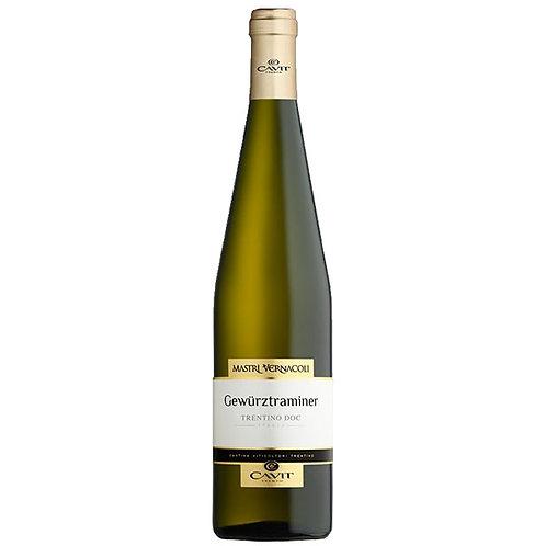 卡維特酒莊方言系列格烏茲塔明娜白葡萄酒 Cavit Mastri Vernacoli Gewurztraminer DOC 2019