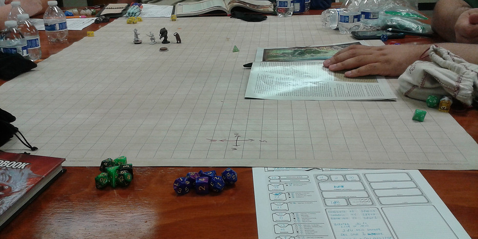 Level 10-12: Dungeons and Dragons Table (1)