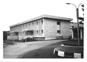 المبنى الجديد للمستشفى المعمداني