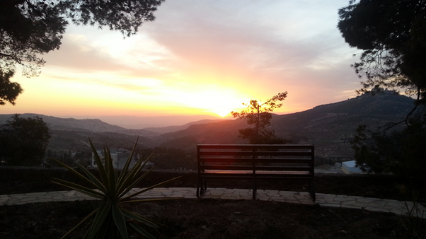 Sunset seen from ABCC