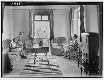 غرفة الممرضات في مستشفى عجلون