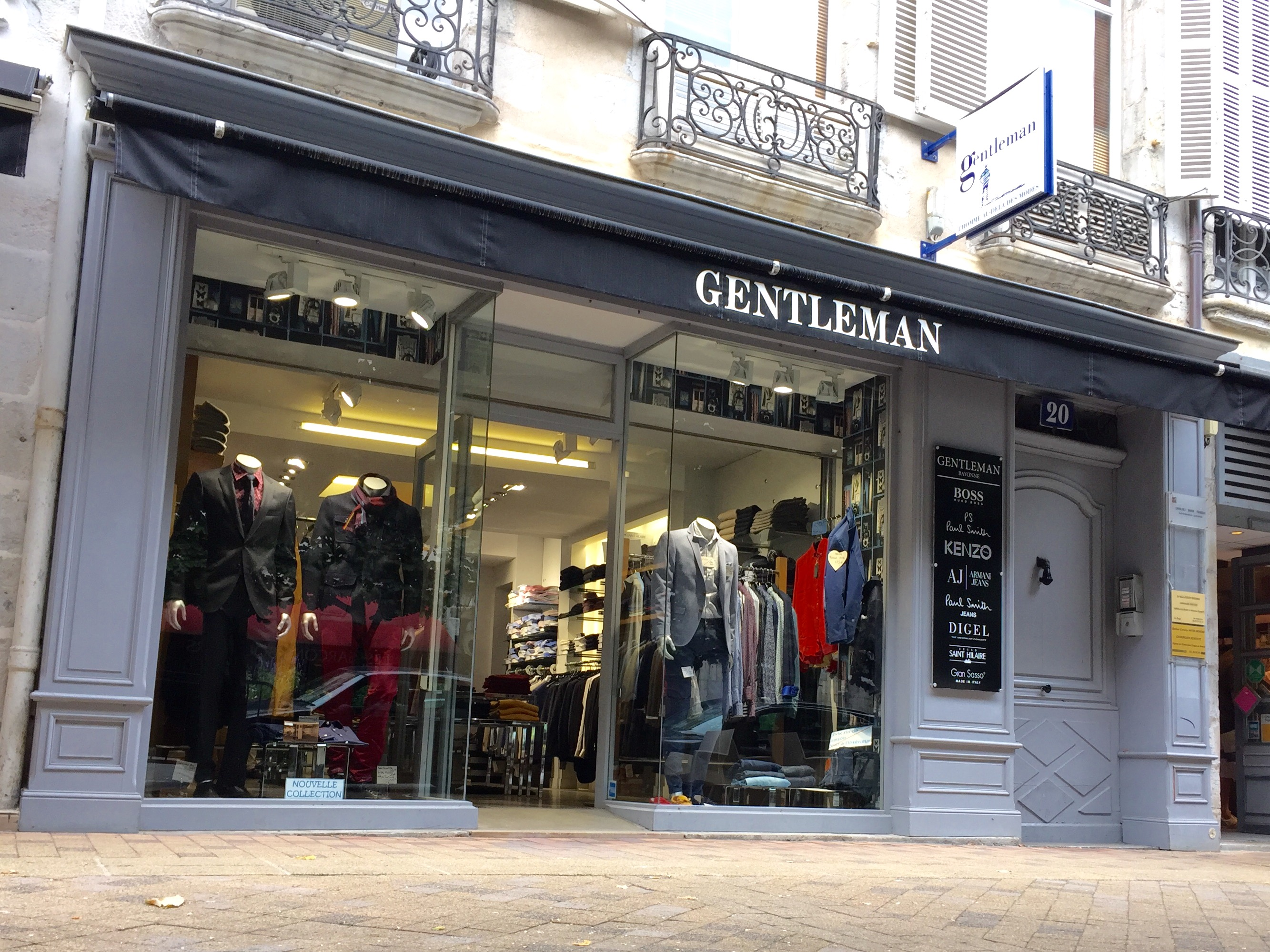 Boutique Gentleman Bayonne
