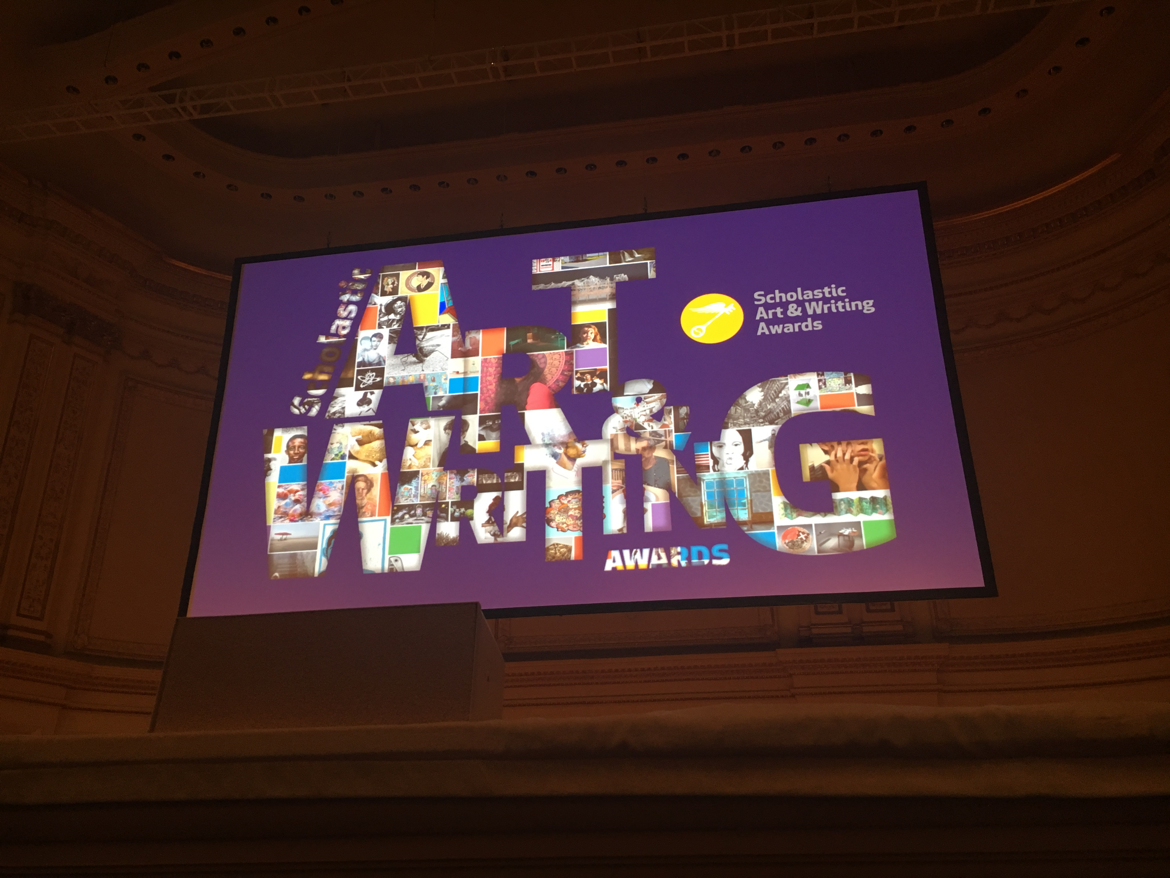 Scholastic Awards at Carnegie Hall