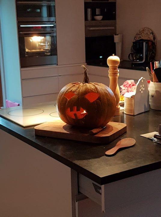 Årets Halloween pumpa