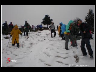 Με τον Ορειβατικό Σύλλογο Πύργου. Ημέρα 1η