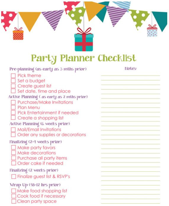 party planning image