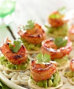 shrimp and lime