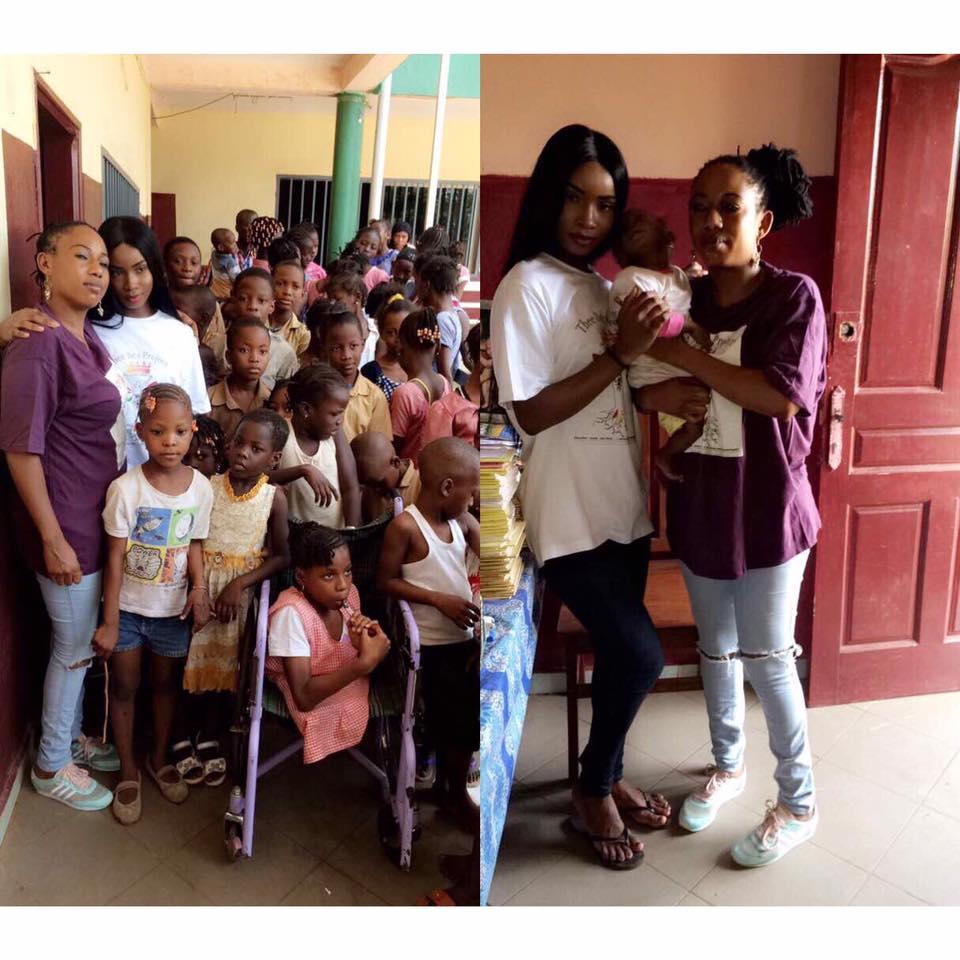 Aissatou Diallo and Sister Lessa
