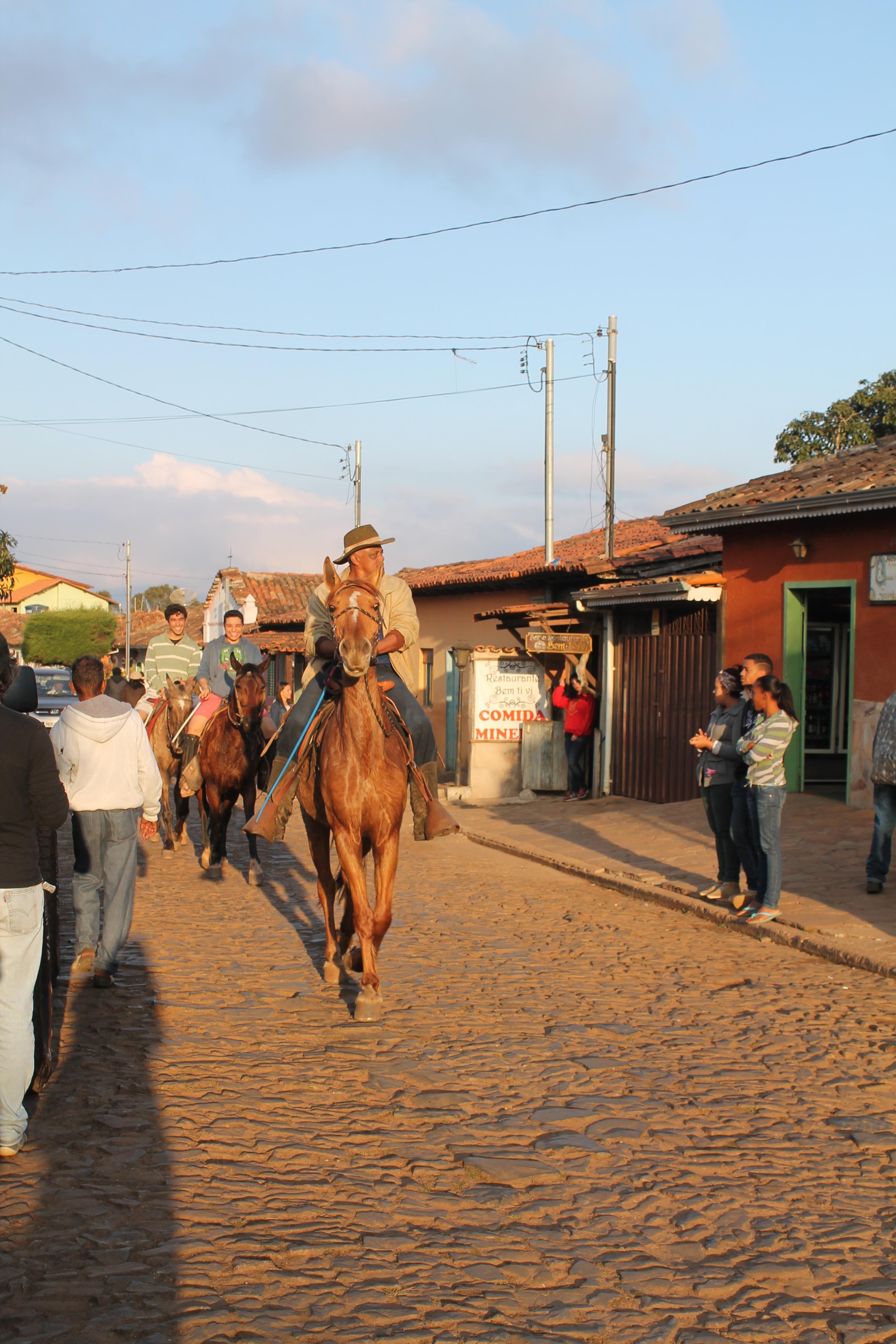 Passeio a cavalo