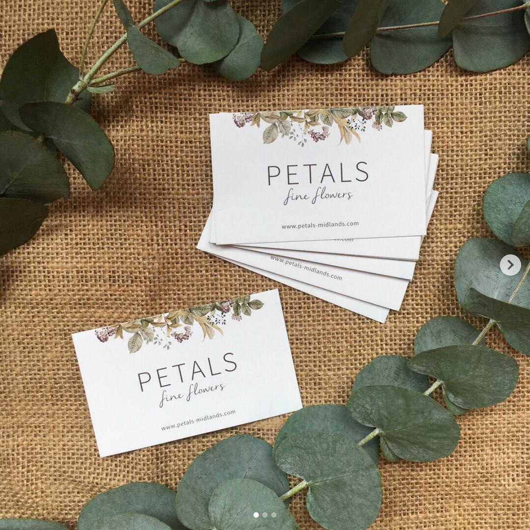 PETALS BUSINESS CARDS