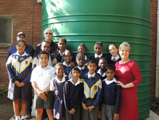 Fulton School Water Tanks