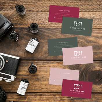 CHRIS MCCABE BUSINESS CARDS
