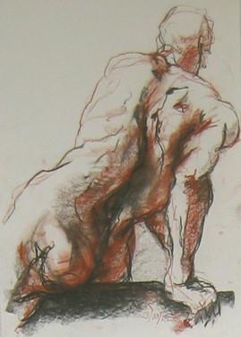 Sketch in Conte