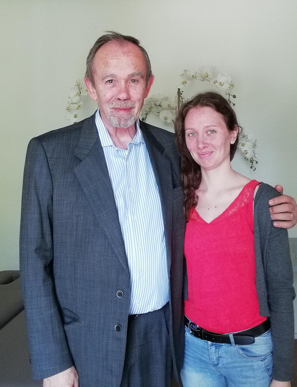Jean-Pierre Meersseman et Lorane Lechevalier