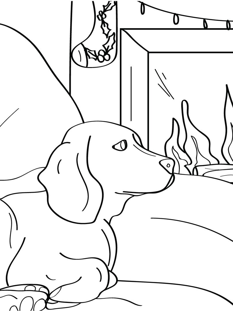 Fireplace Dog