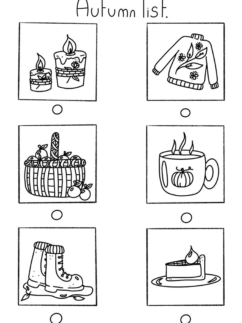 Autumn Tick List