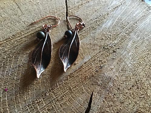Copper & Picasso Jasper Beads