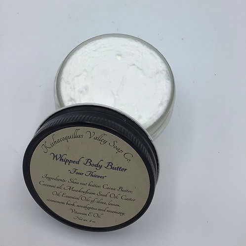 Whipped Body Butter- Four Thieves