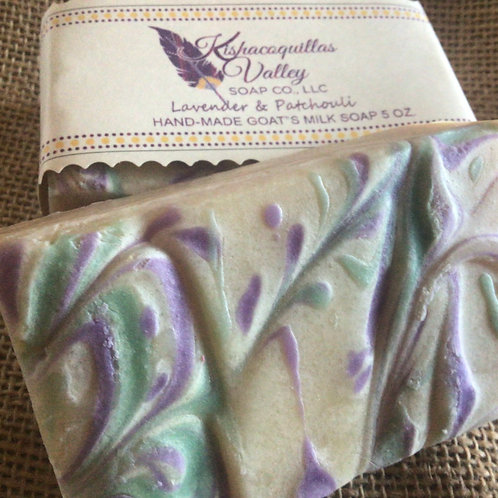 Patchouli and Lavender