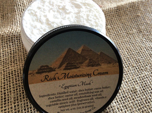 Egyptian Musk Moisturizing Cream