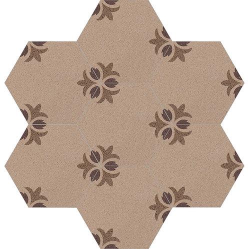 Hexagon Cement Tile 30x35-04