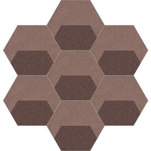 Hexagon Cement Tile 20x23-22