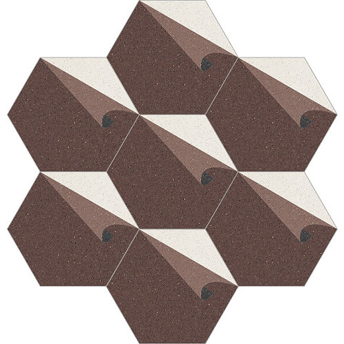 Hexagon Cement Tile 20x23-32