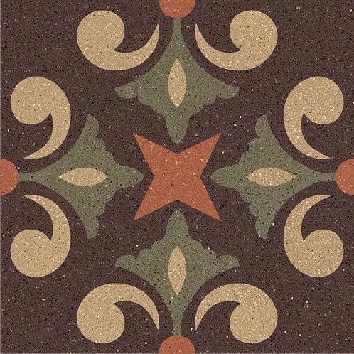 Cement Tile Ocean Design 03