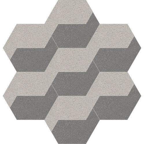 Hexagon Cement Tile 20x23-20