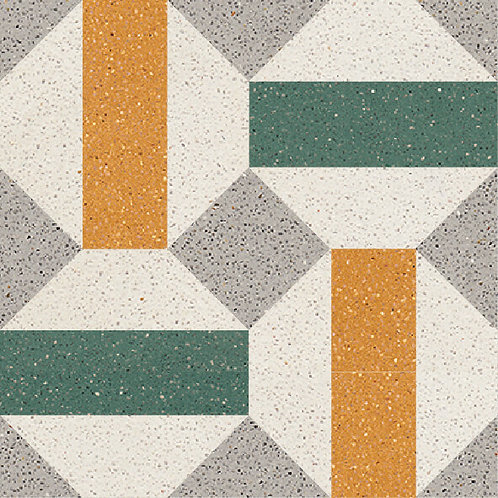 Cement Tile Retro Design 17