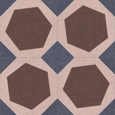 Octagon Cement Tiles