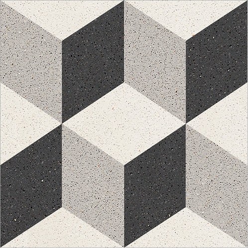 Cement Tile Geometric Design 05