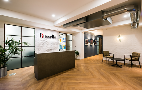 Russells Solicitors office refurbishment london