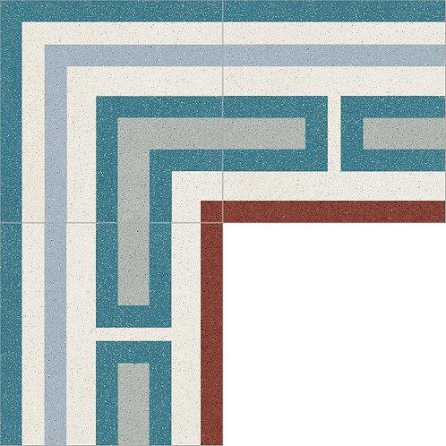 Cement Border Tile 20x20-20