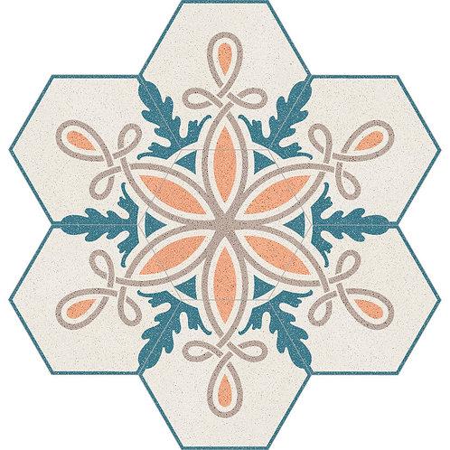 Hexagon Cement Tile 30x35-01