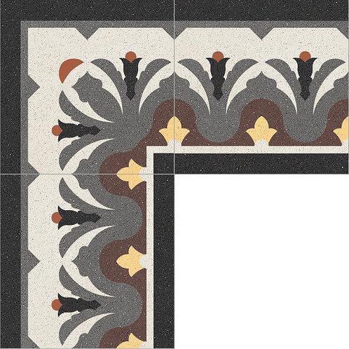 Cement Border Tile 25x25-01