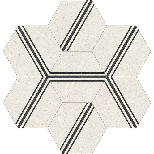 Hexagon Cement Tile 20x23-38