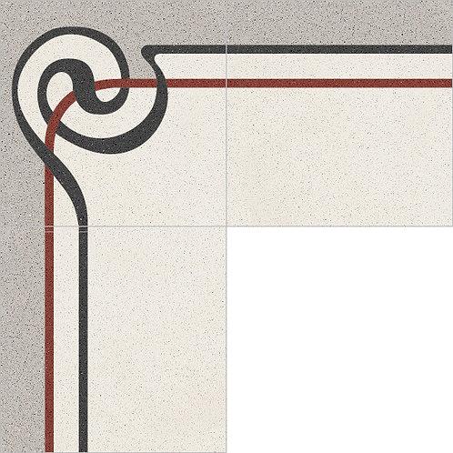 Cement Border Tile 20x20-38