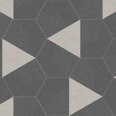 Hexagon Cement Tiles