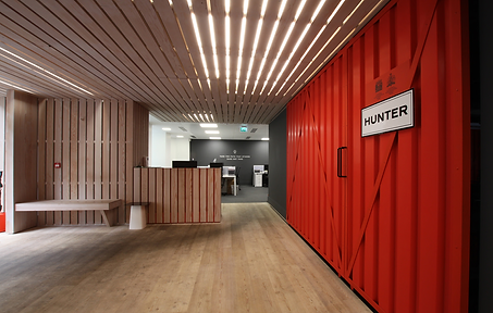 Hunte Boots London workplace design