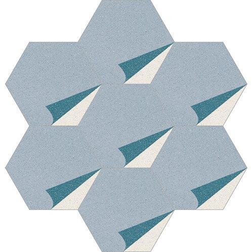 Hexagon Cement Tile 20x23-26