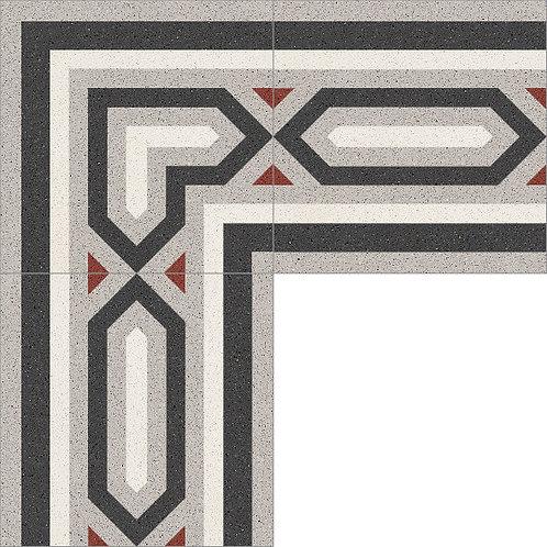 Cement Border Tile 20x20-43
