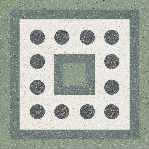 Cement Tile Complex Design Polka-Dot-05