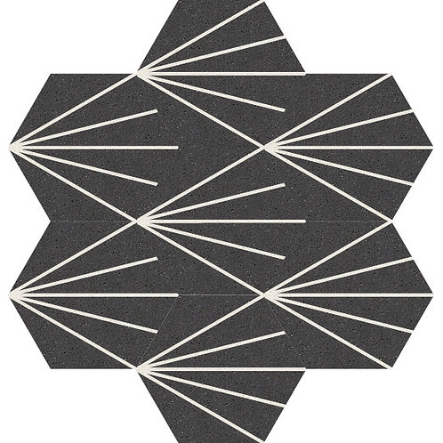 Hexagon Cement Tile 20x23-40